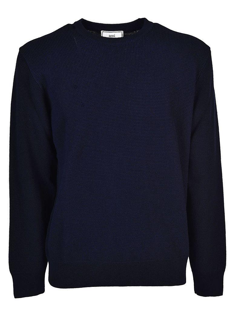Ami Alexandre Mattiussi Classic Sweatshirt In Navy
