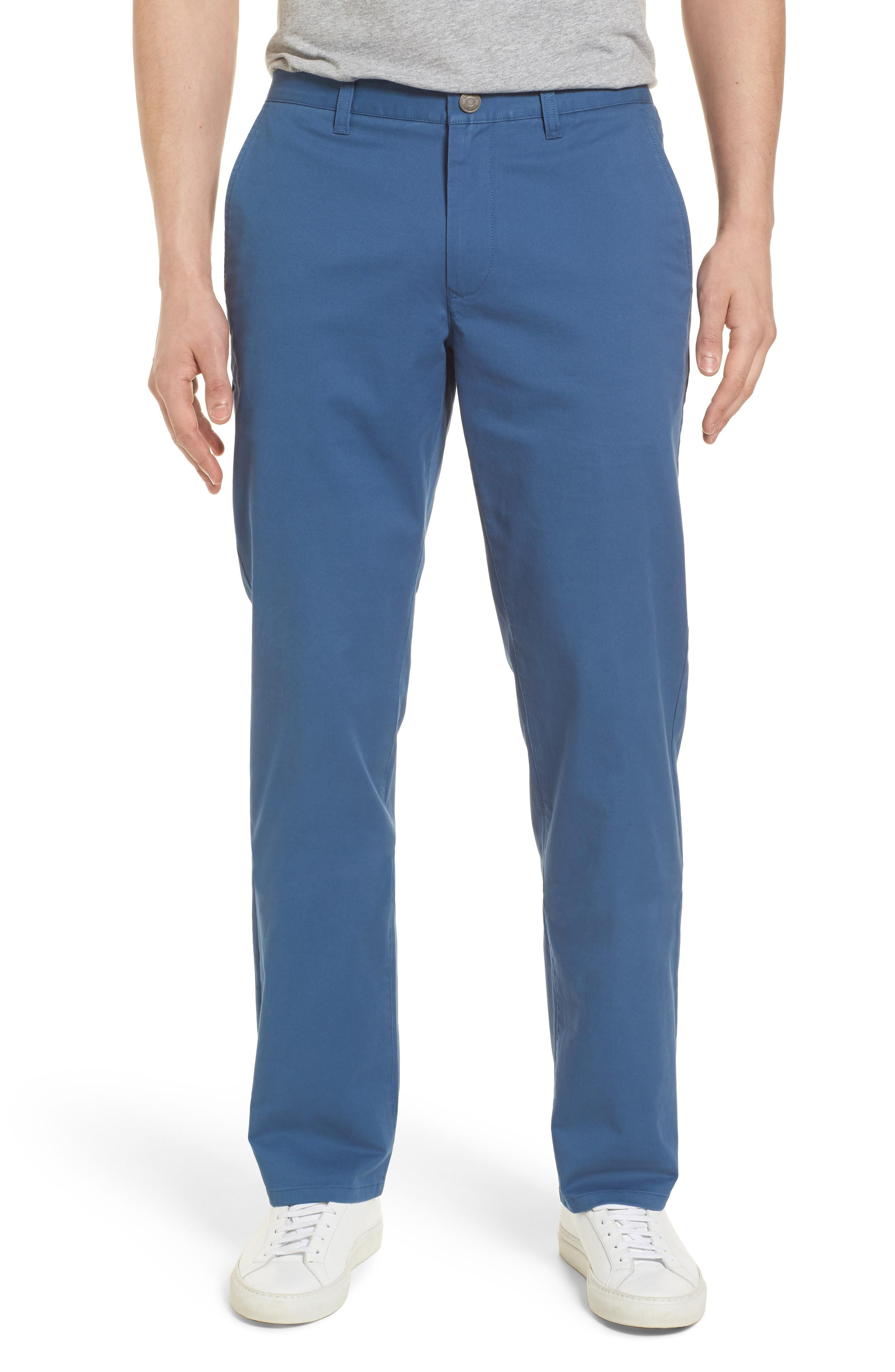 Bonobos Straight Leg Stretch Washed Chinos In Captains Blue