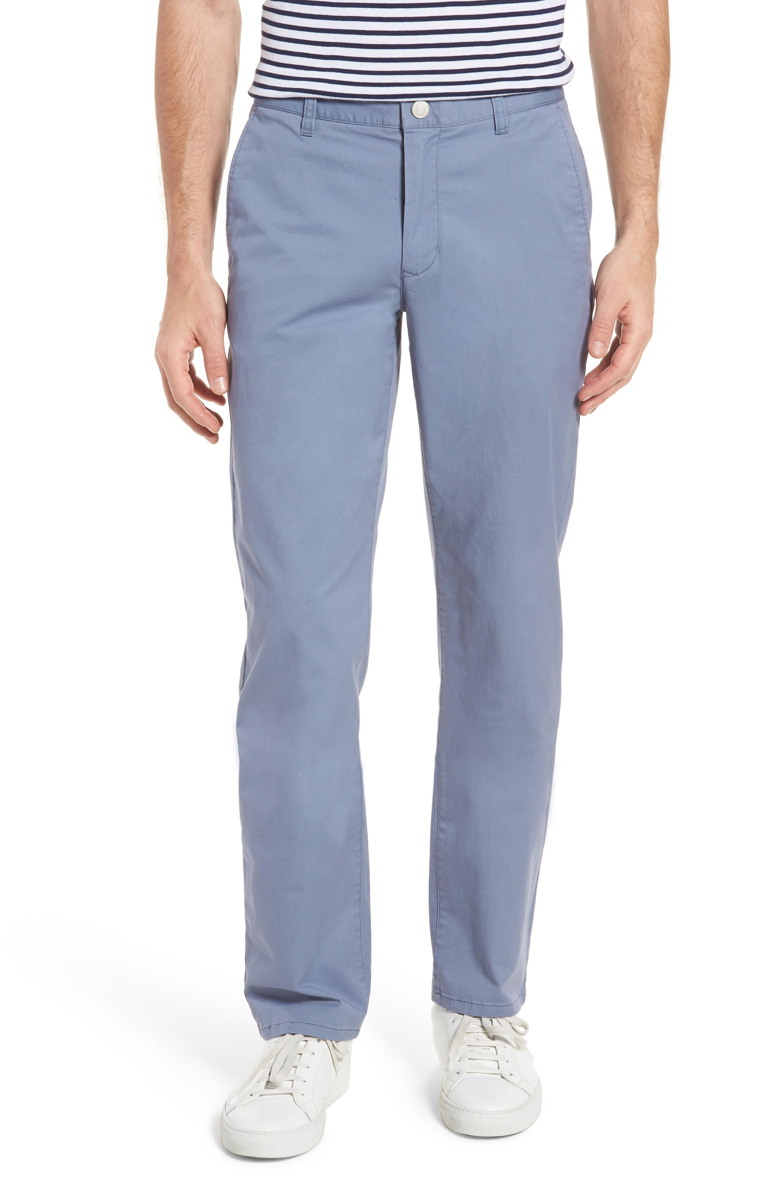 Bonobos Straight Leg Stretch Washed Chinos In Tempest Purple