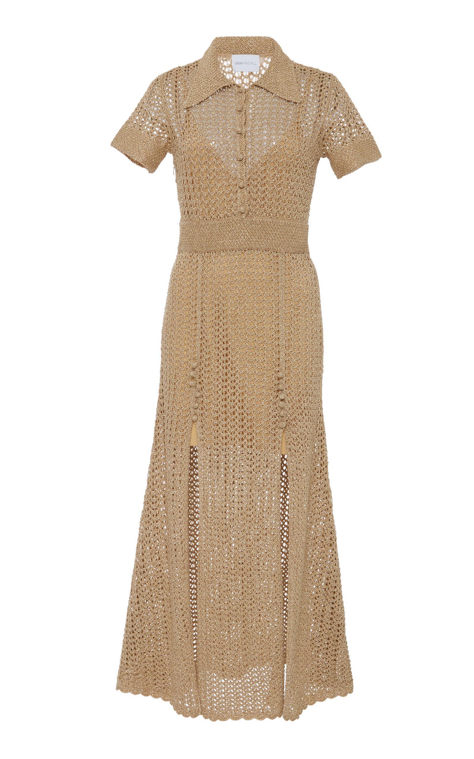 Alice Mccall Bijou Bijou Dress In Gold
