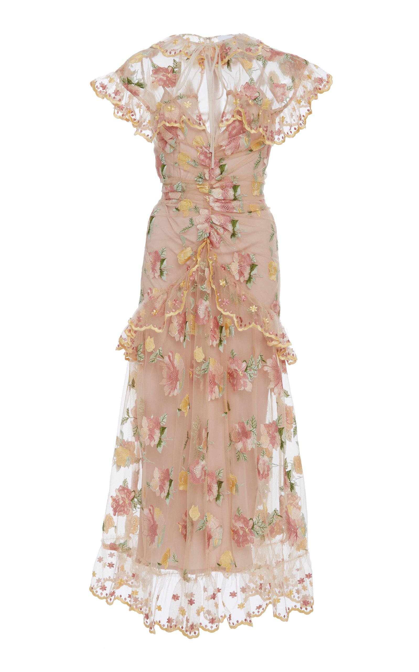 Alice Mccall Floating Delicately Dress In Floral