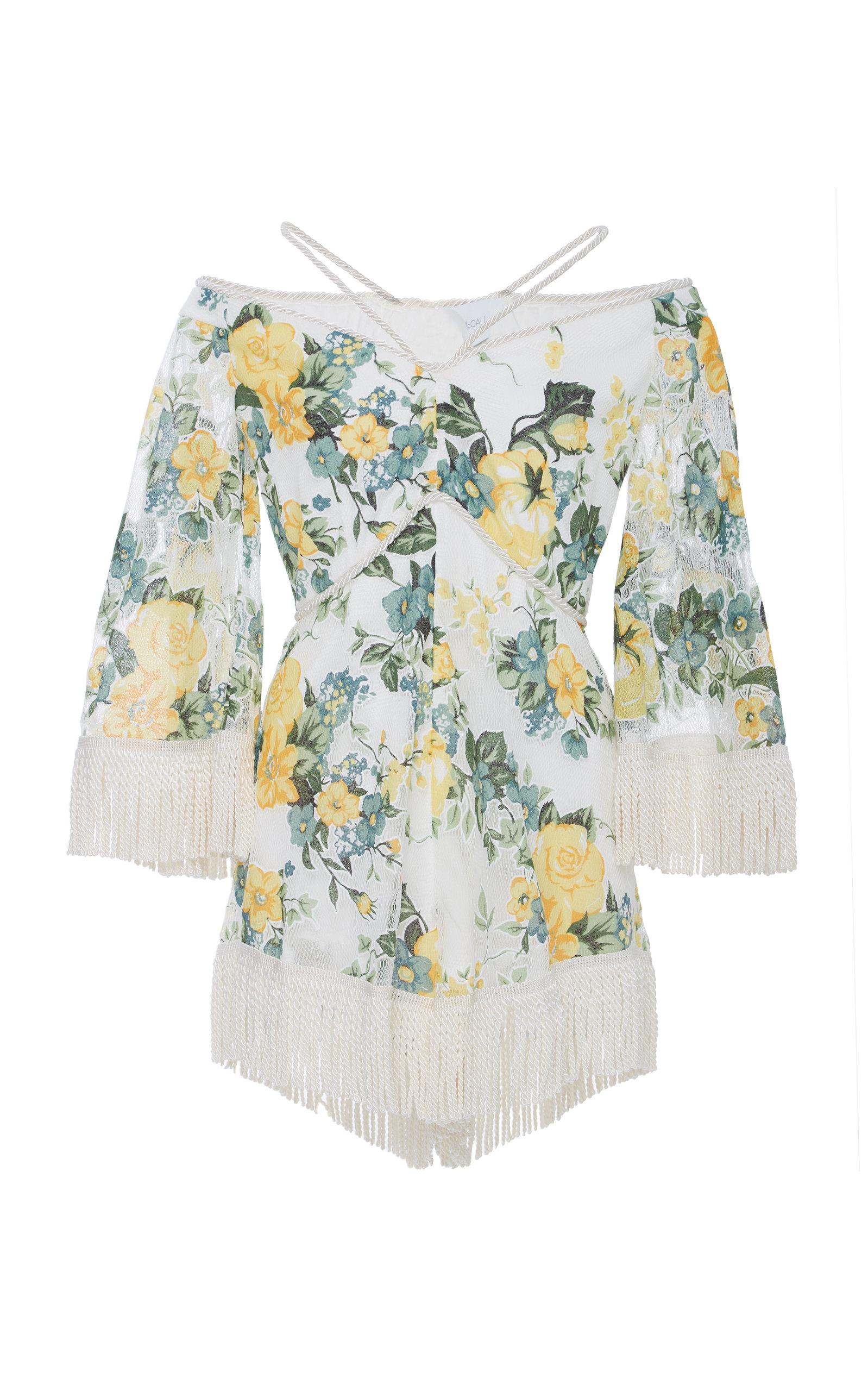 Alice Mccall Le Fleur Playsuit In Floral