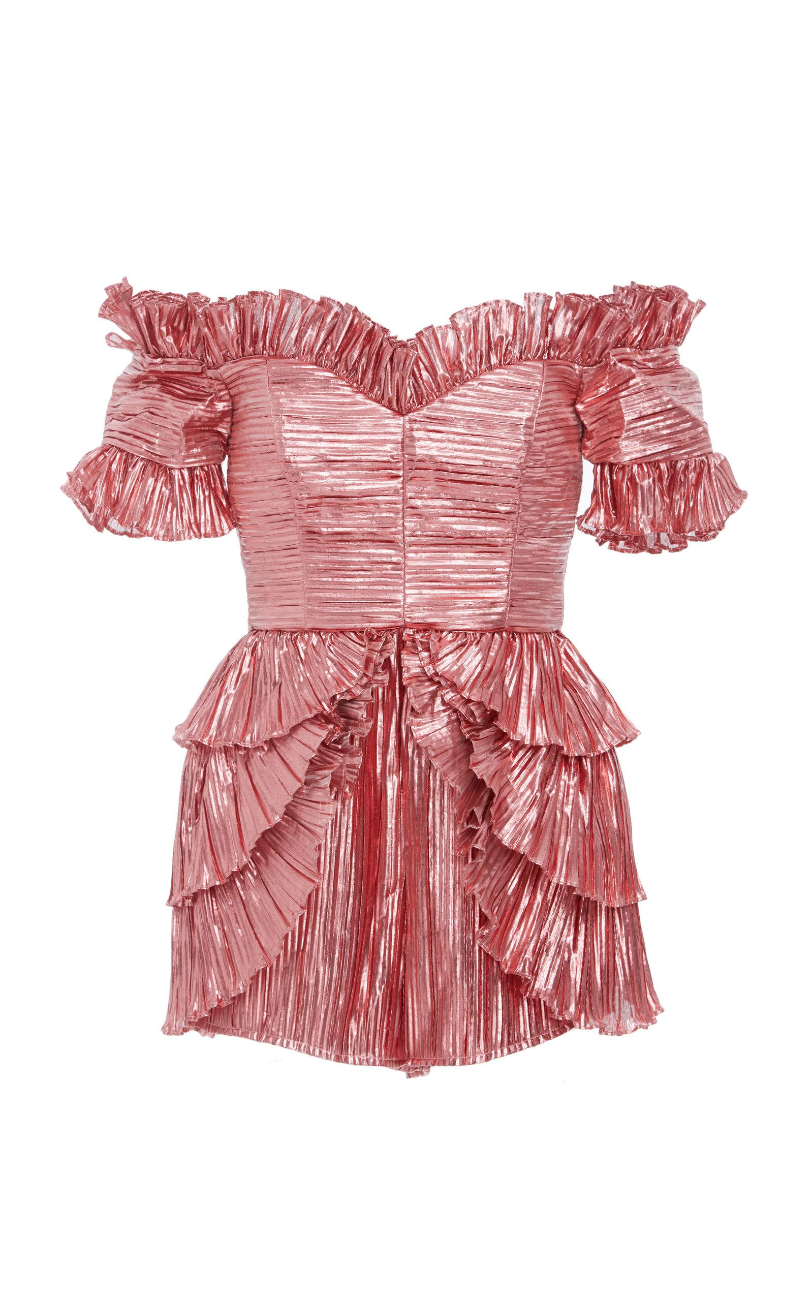Alice Mccall Wasn't Born To Follow Playsuit In Pink