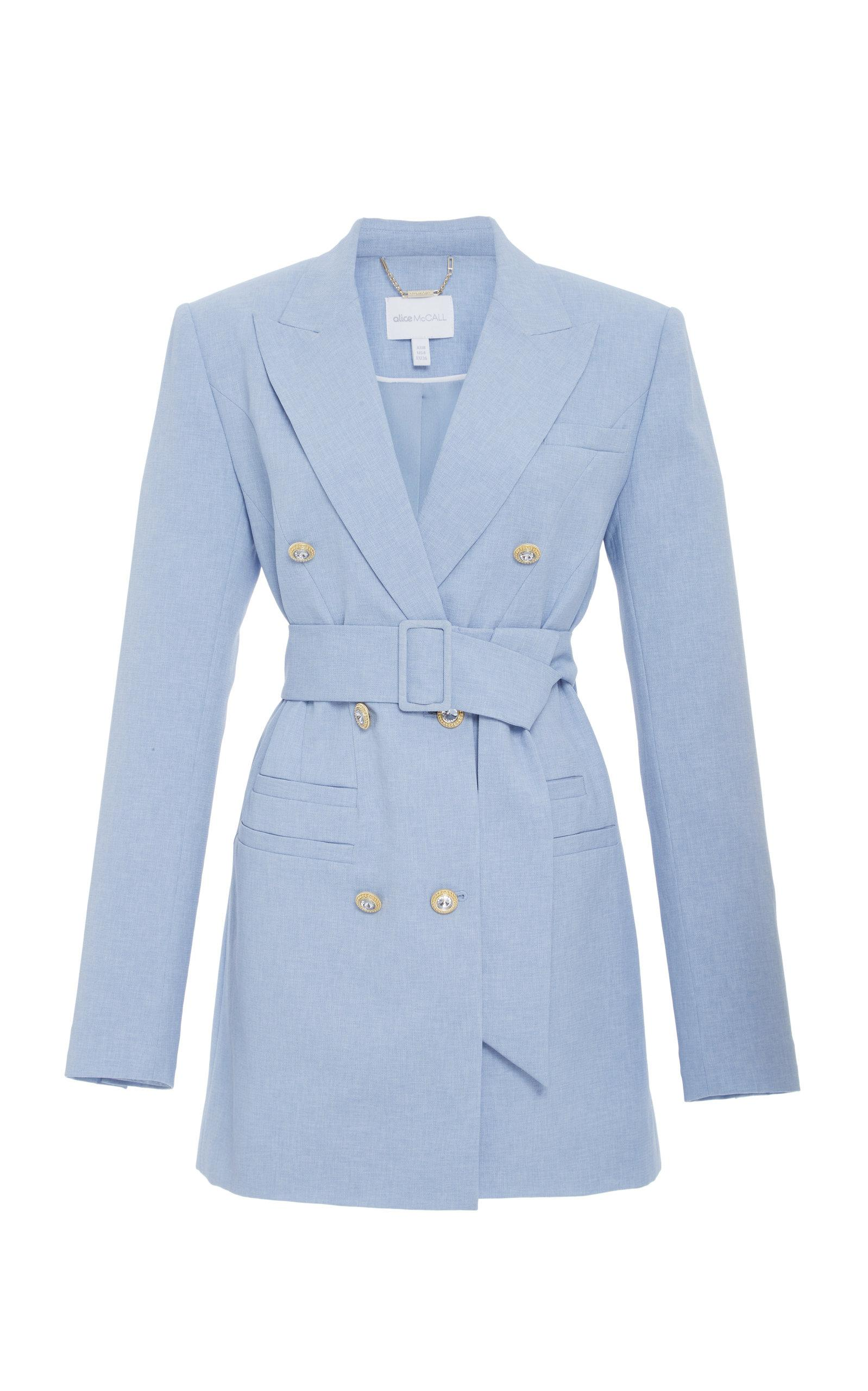 Alice Mccall That's All Coat In Blue