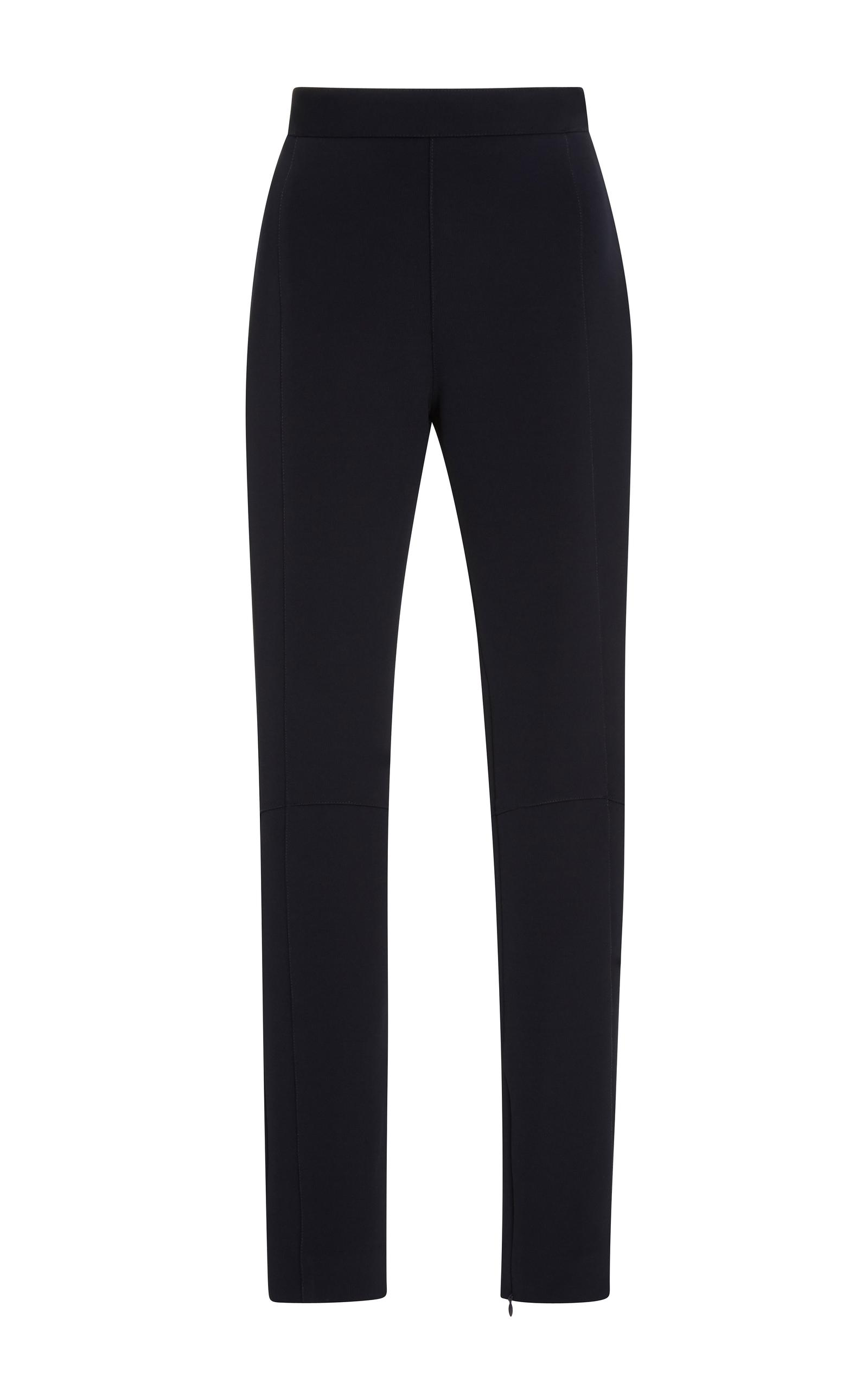 Jonathan Simkhai Bodycon Elastania Skin Fit Pants In Black