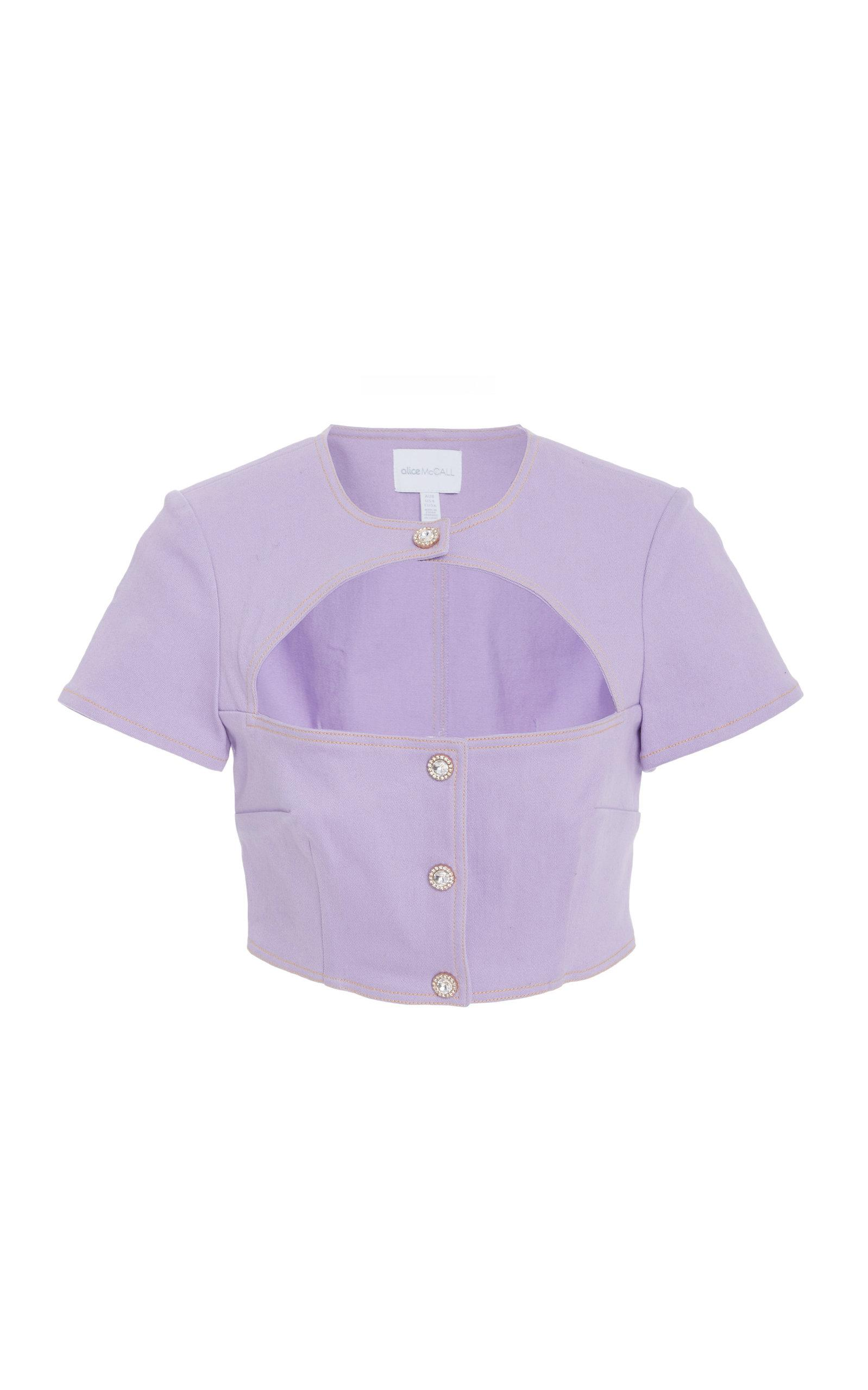 Alice Mccall Somebody's Baby Top In Purple