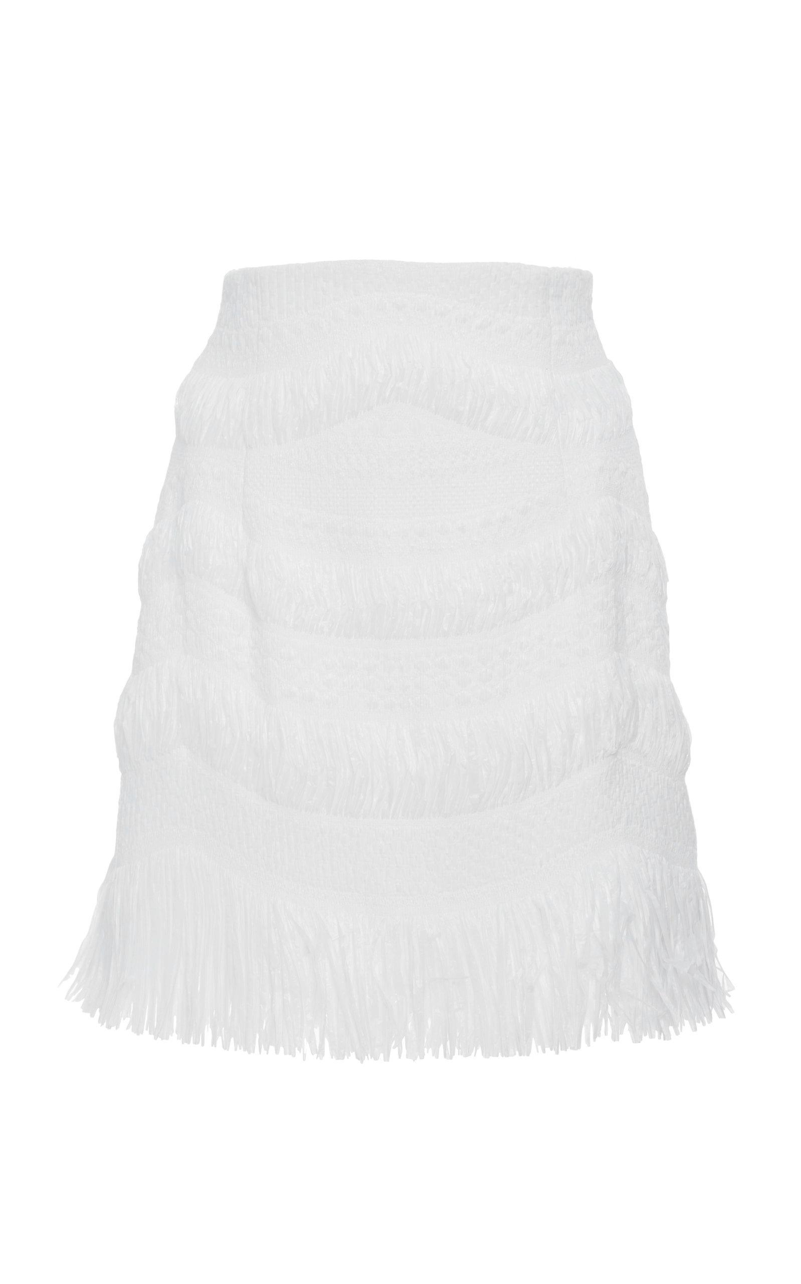 Alice Mccall Suave Skirt Porcelain? In White