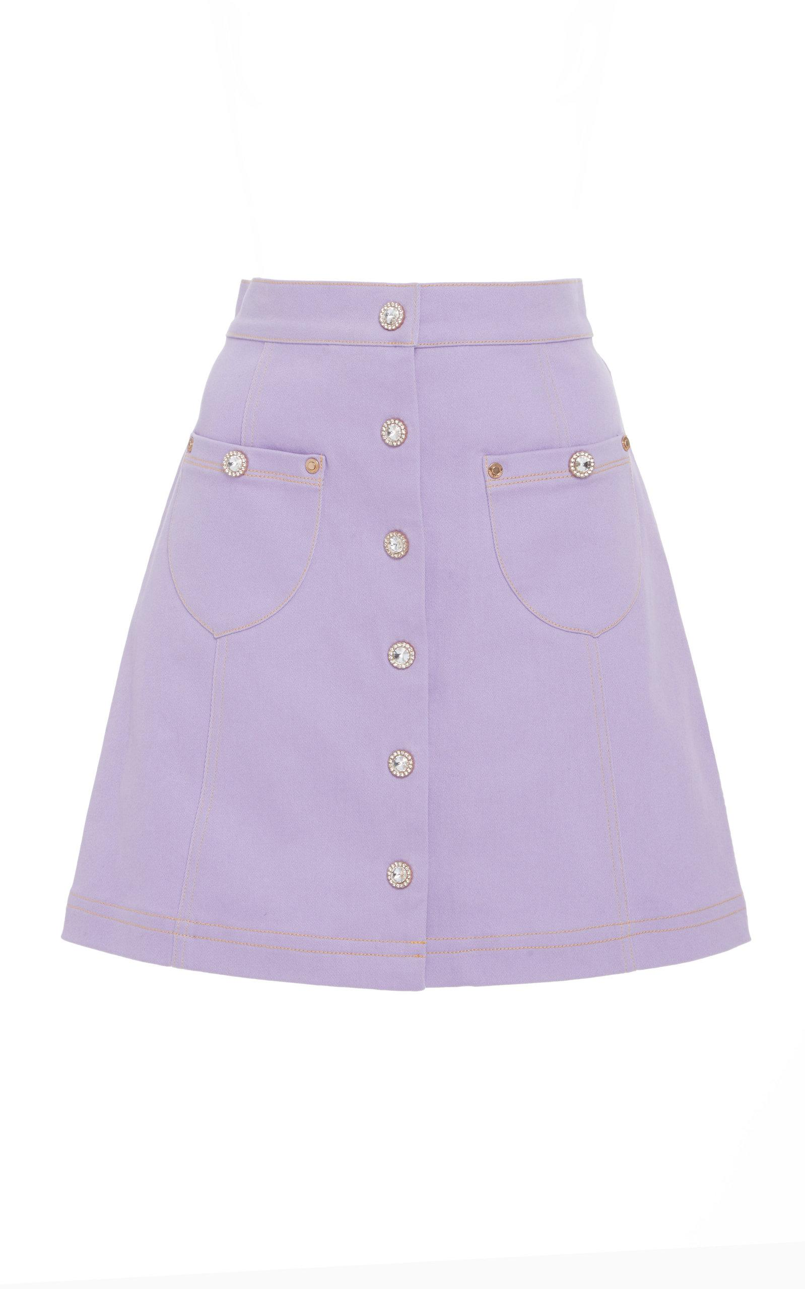 Alice Mccall You Go Girl Skirt In Purple