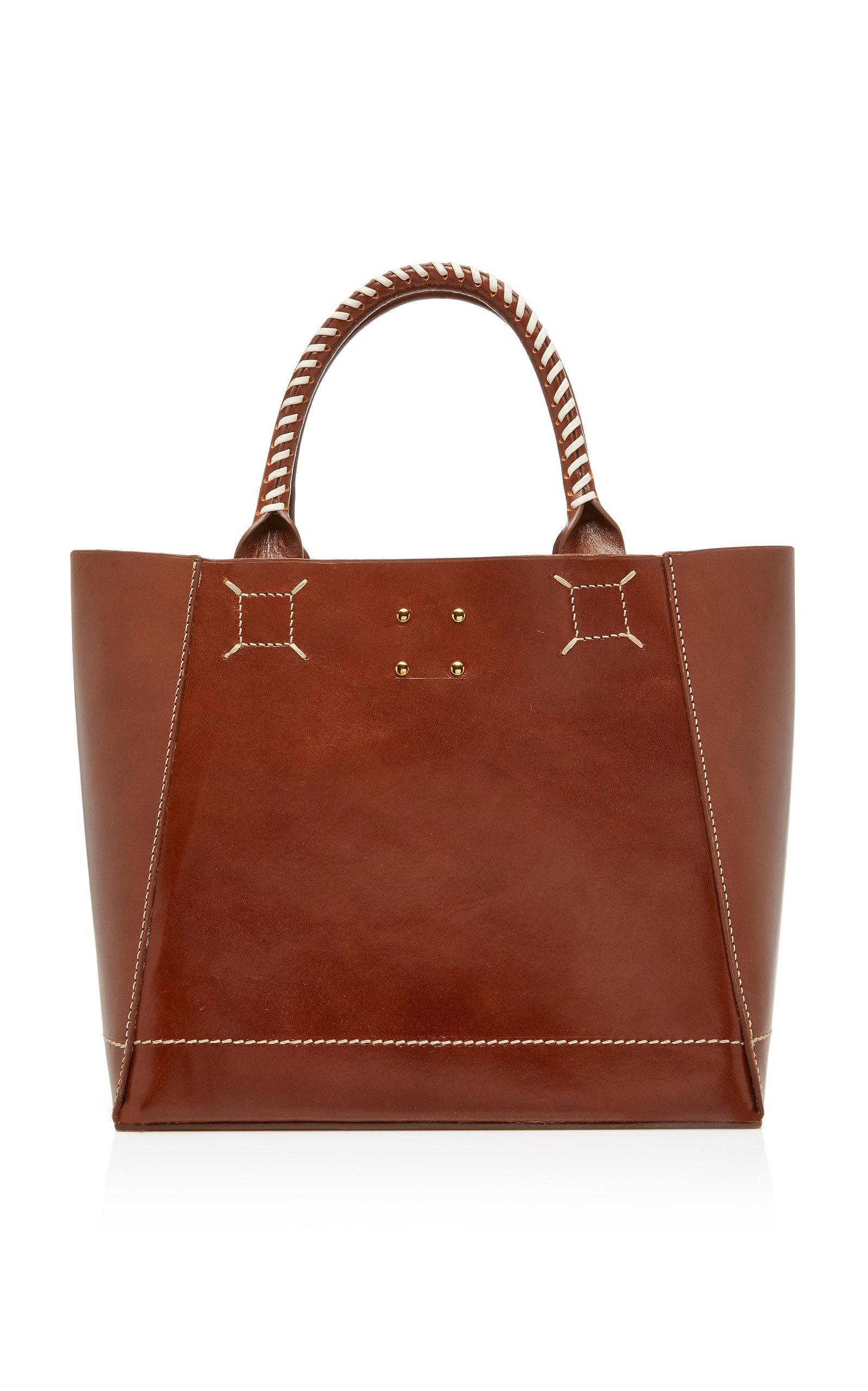 Trademark Trapezoid Tote In Brown