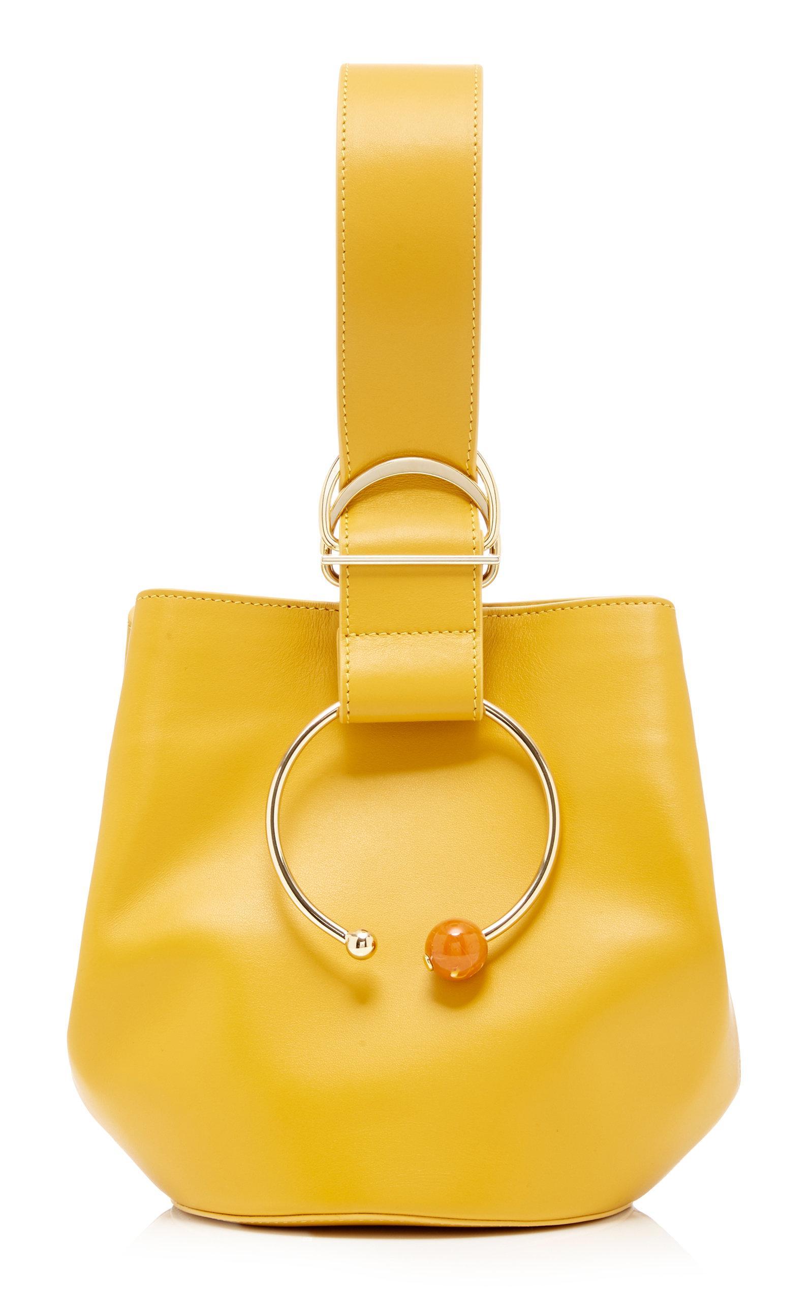 Adeam Gem Sphere Bag In Yellow