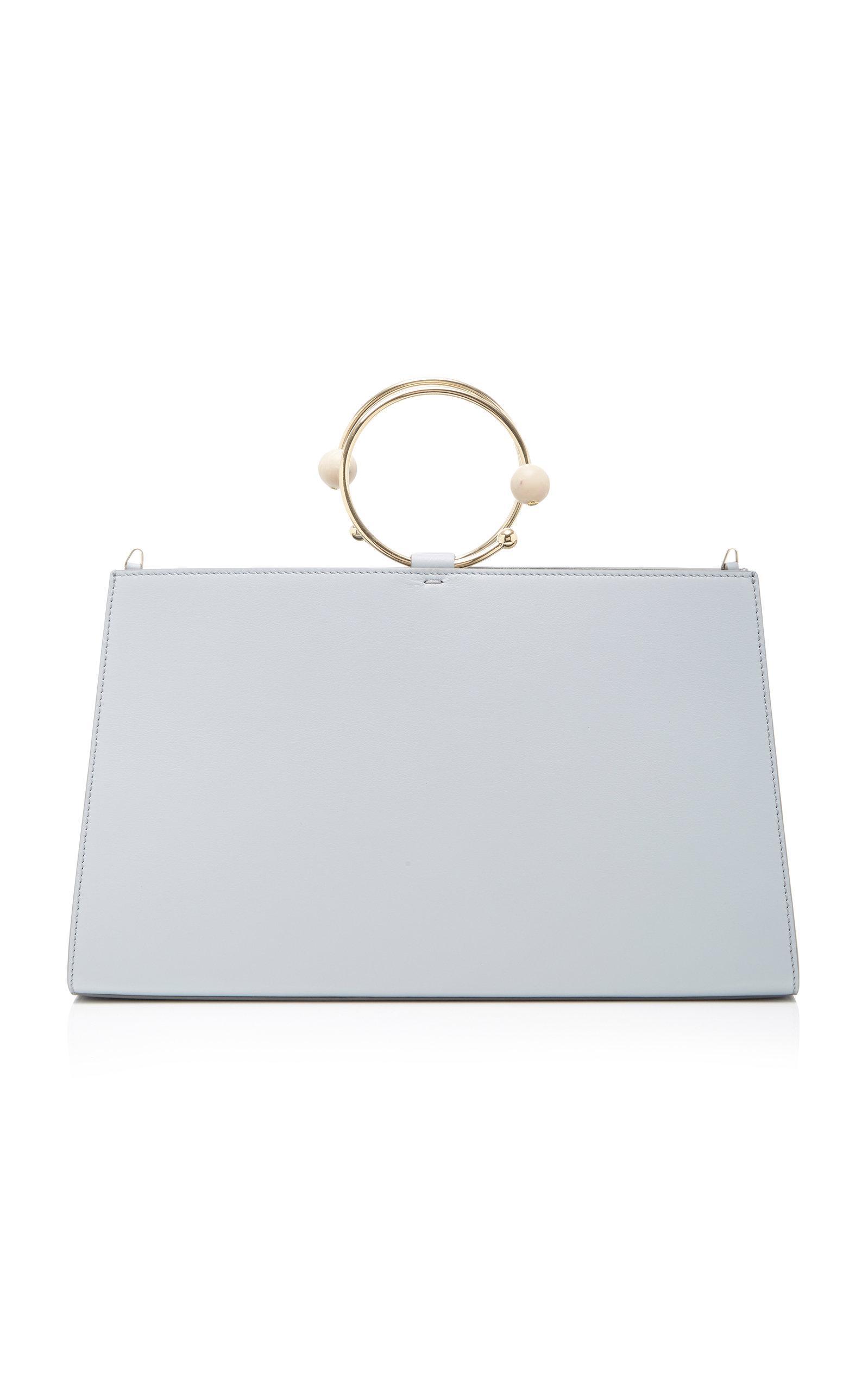 Adeam Art Frame Bag In Blue