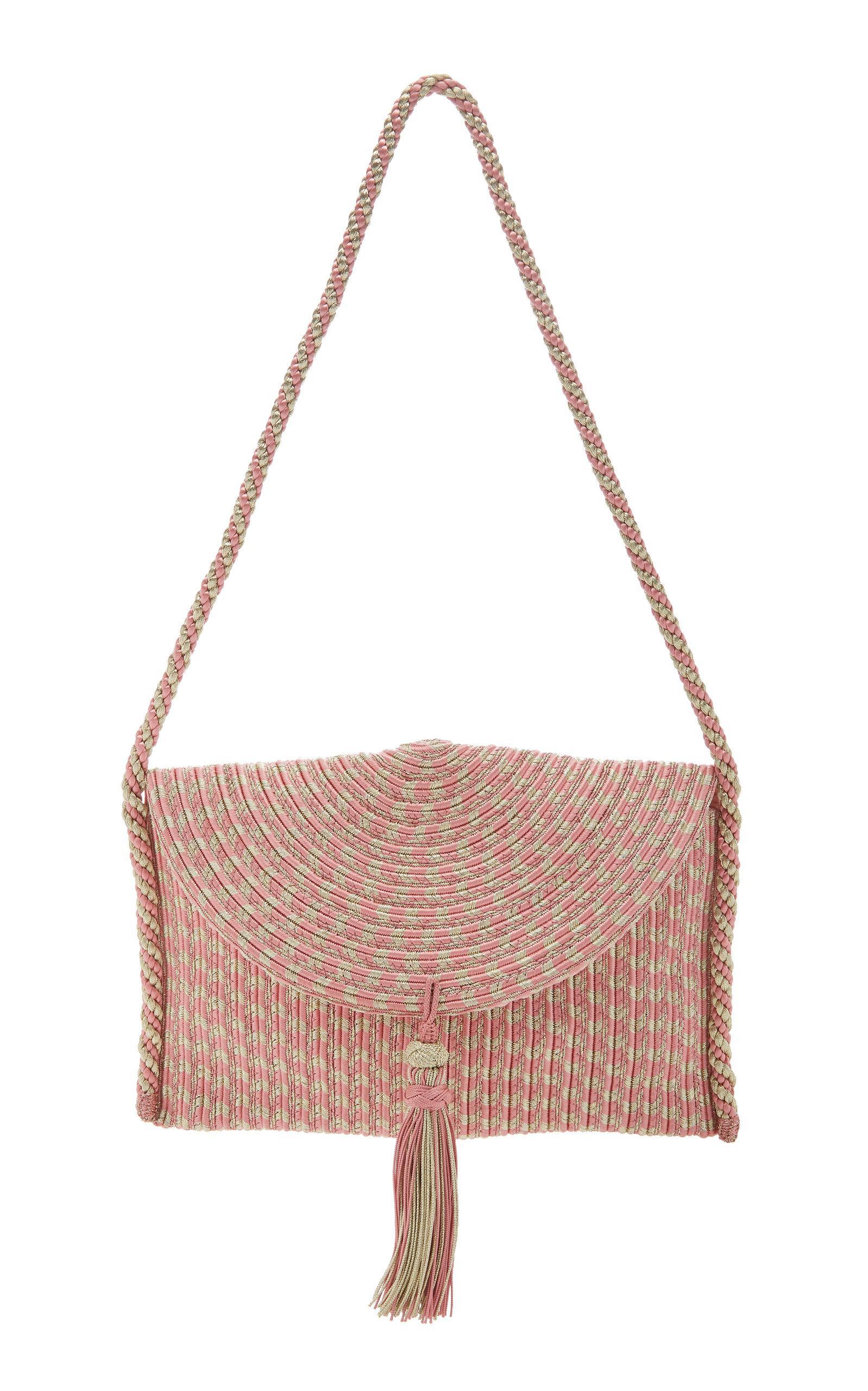 Rebecca De Ravenel Sherazade Shoulder Bag In Pink