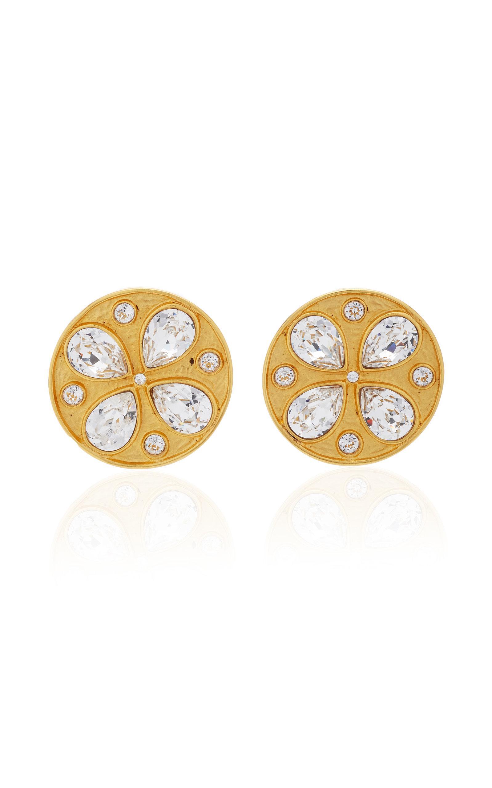 Rebecca De Ravenel Pamina Earrings In White