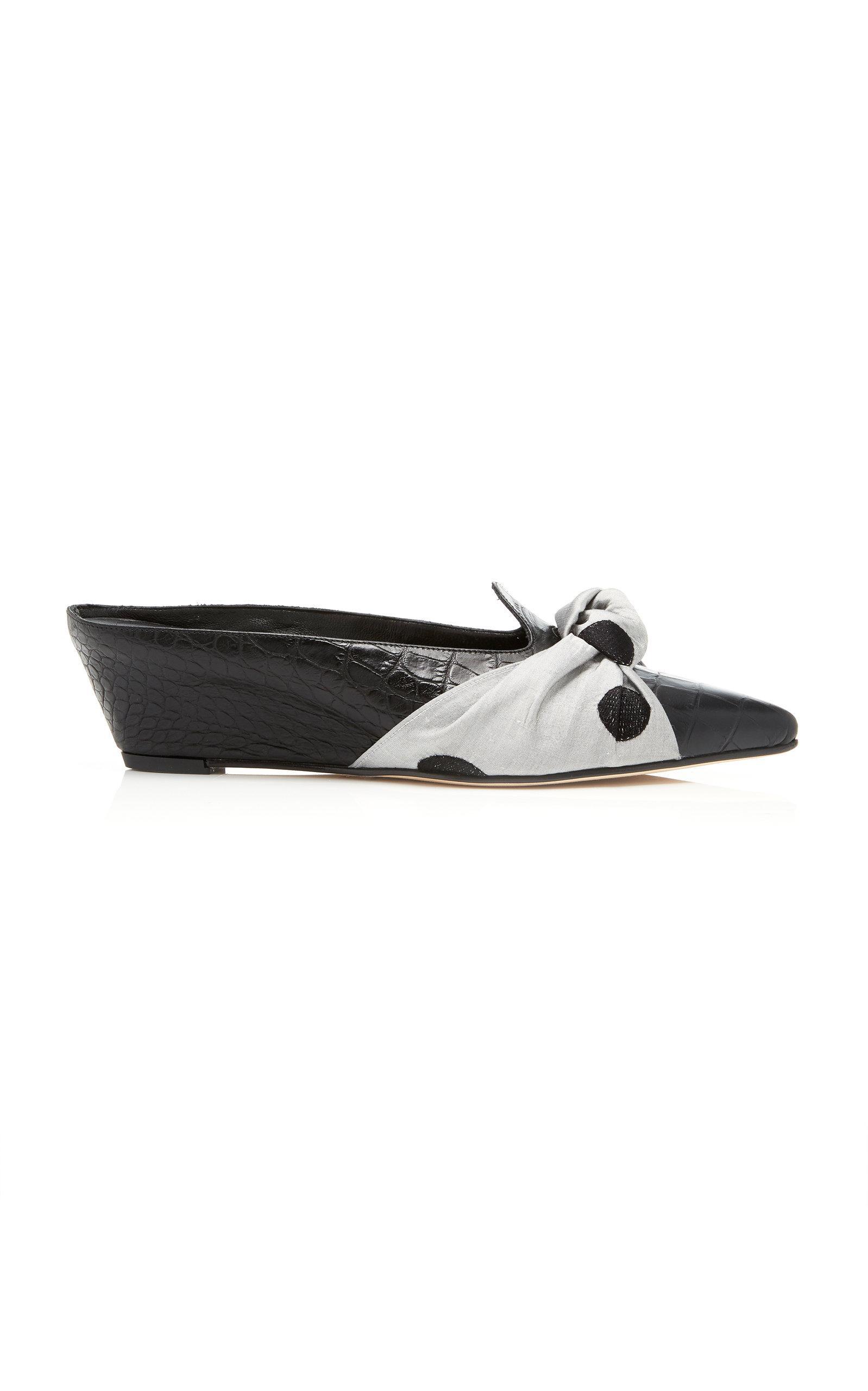 Trademark Adrien Knot Slide In Black