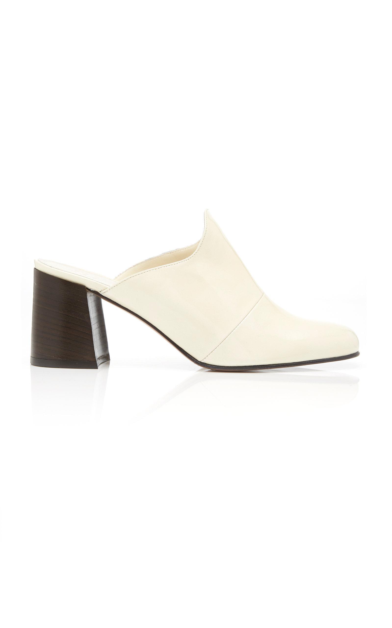 Trademark Frances Mule In White