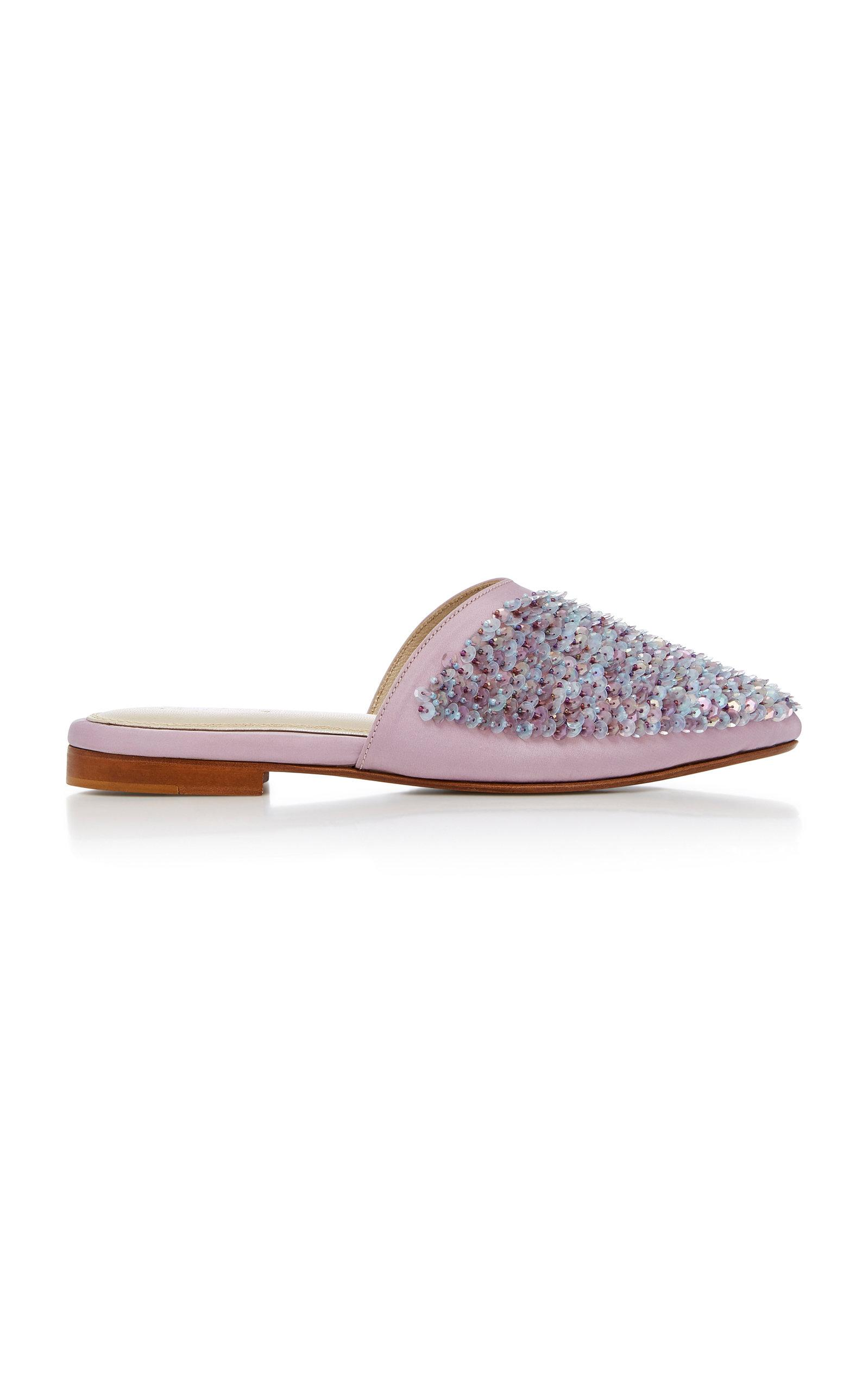 Zyne Jupiter Pastel Slipper In Silver