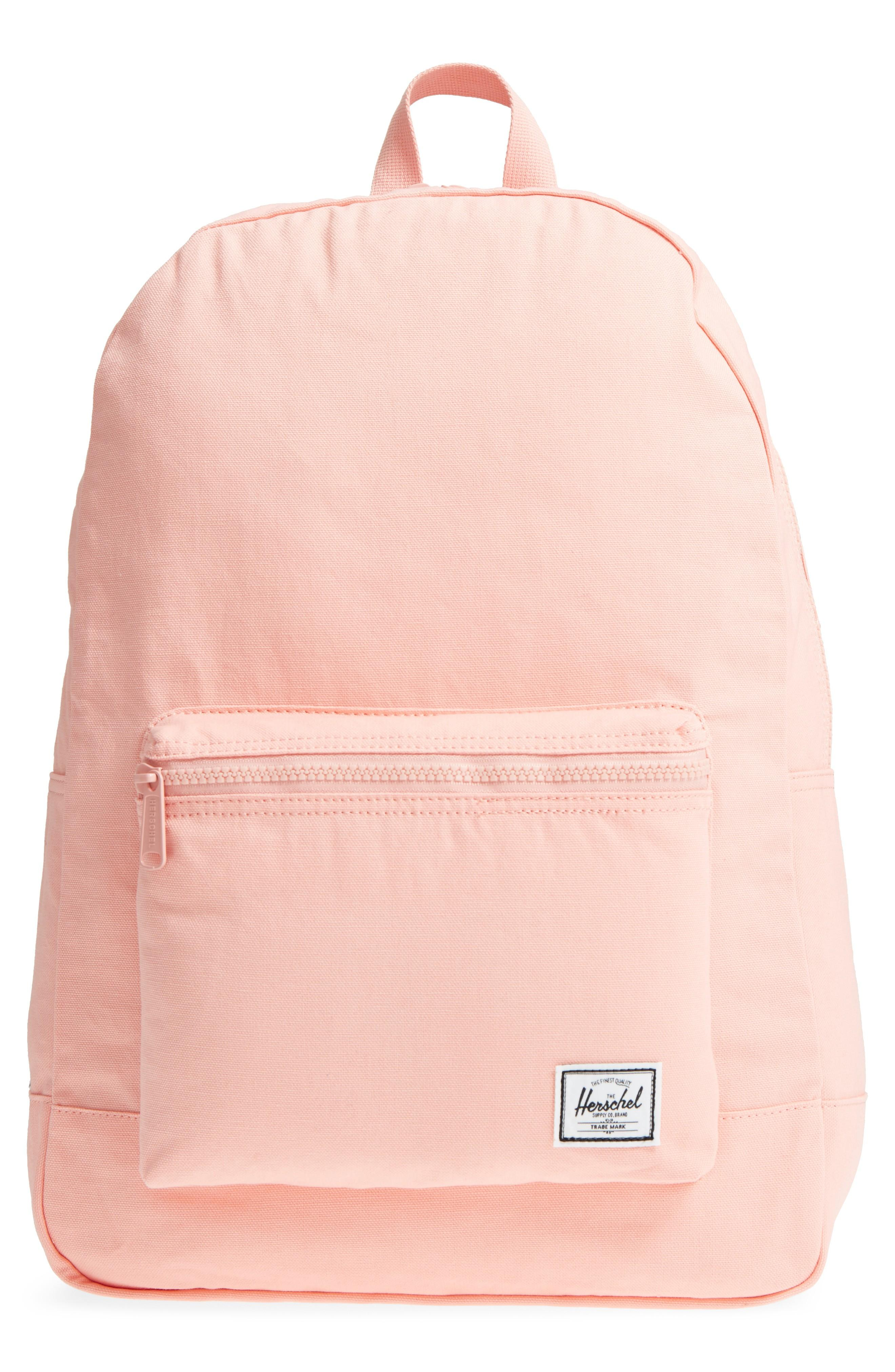 Herschel Supply Co. Cotton Casuals Daypack Backpack - Pink In Peach