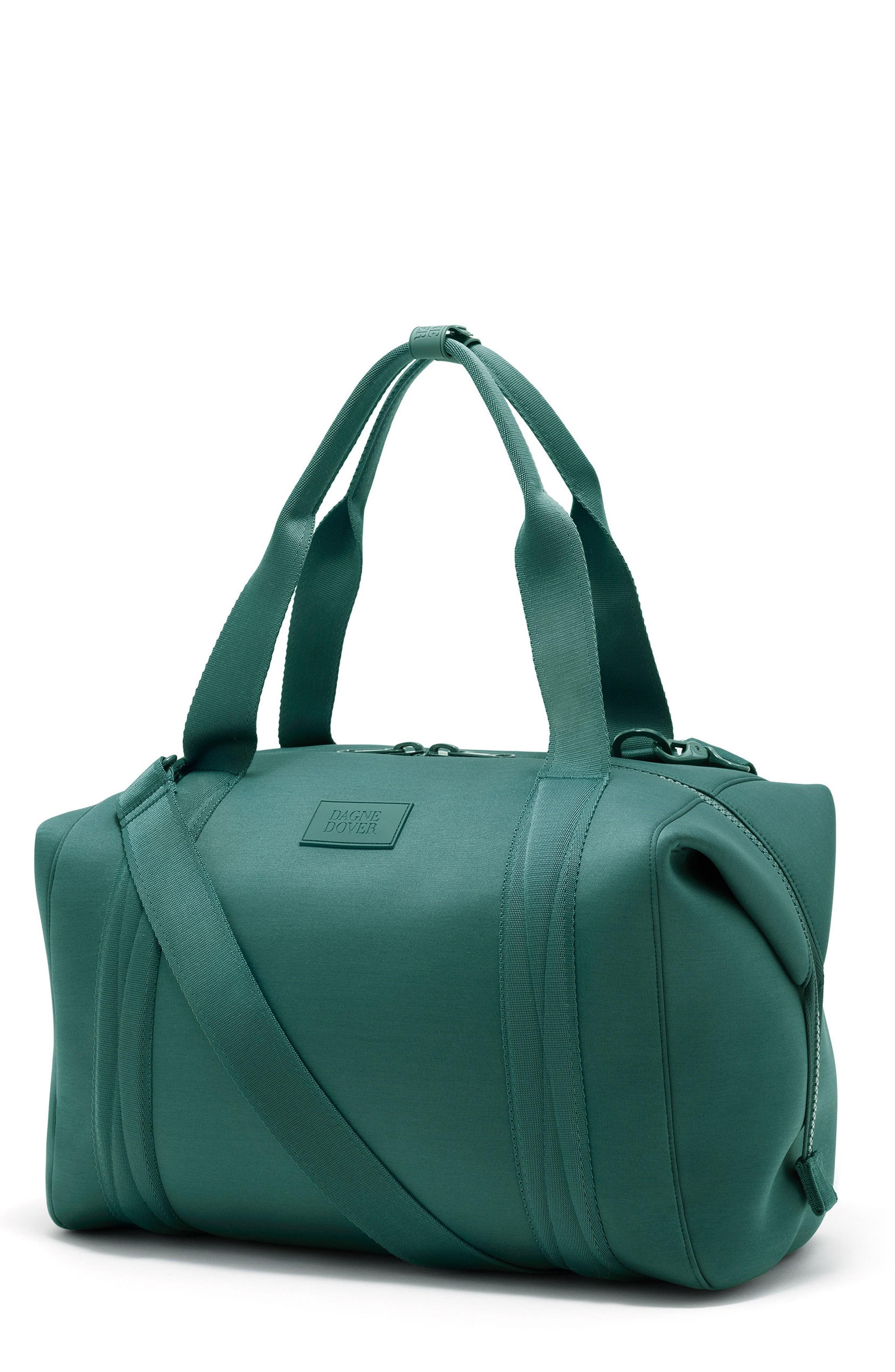 Dagne Dover 365 Large Landon Neoprene Carryall Duffel Bag - Blue/green In Palm