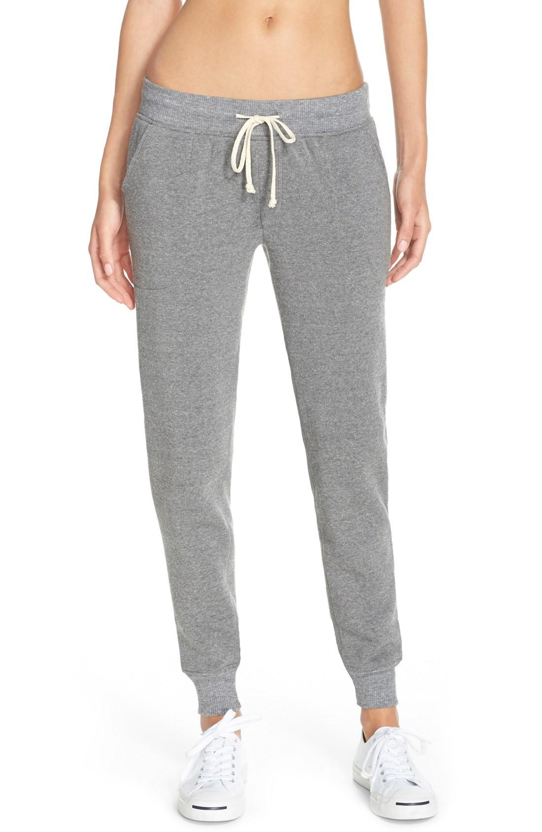 Alternative Fleece Jogger Sweatpants In Eco Grey