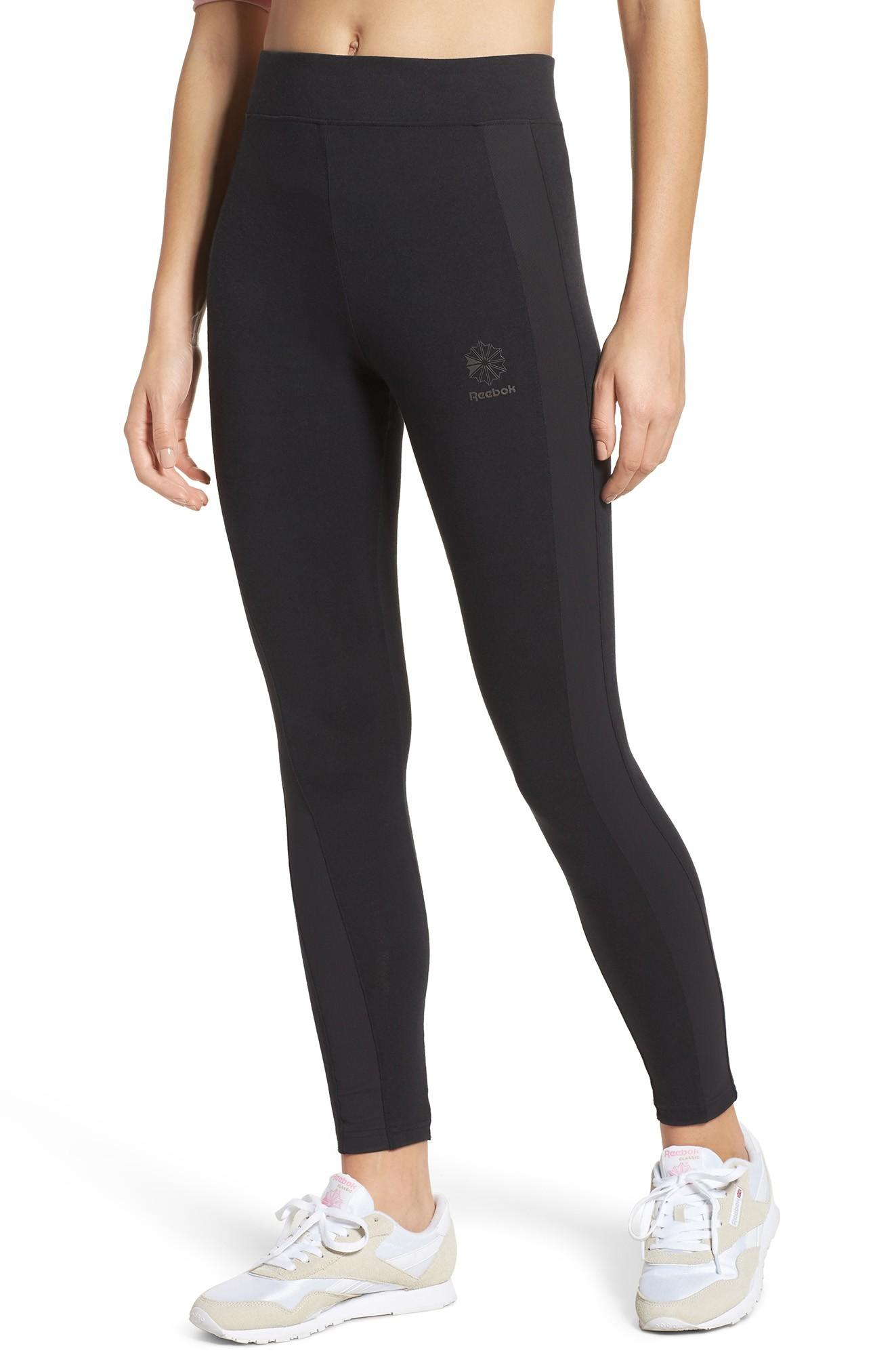 Reebok Dynamic Classic Leggings In Black
