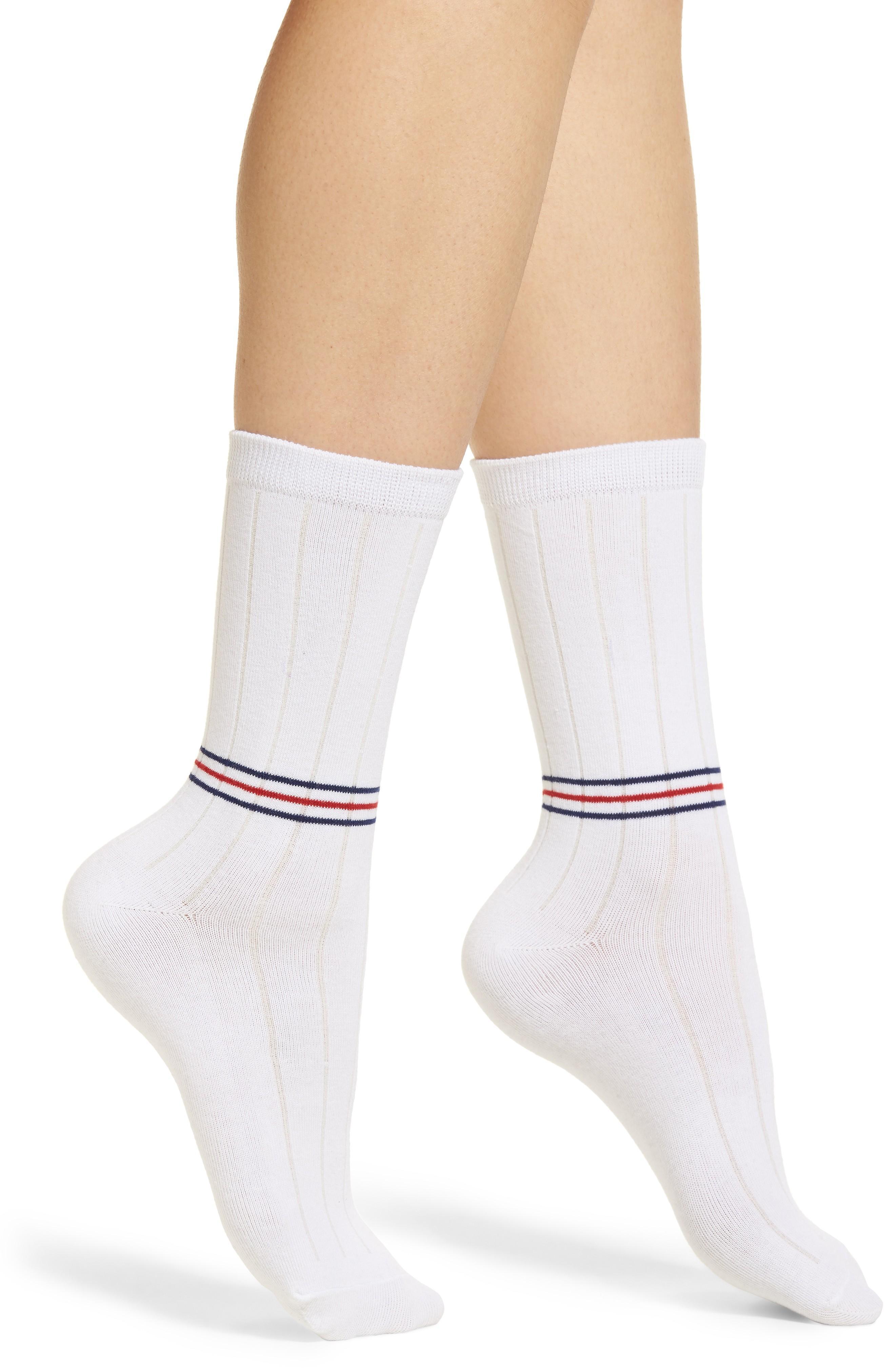 Richer Poorer Rocky Classic Crew Socks In White