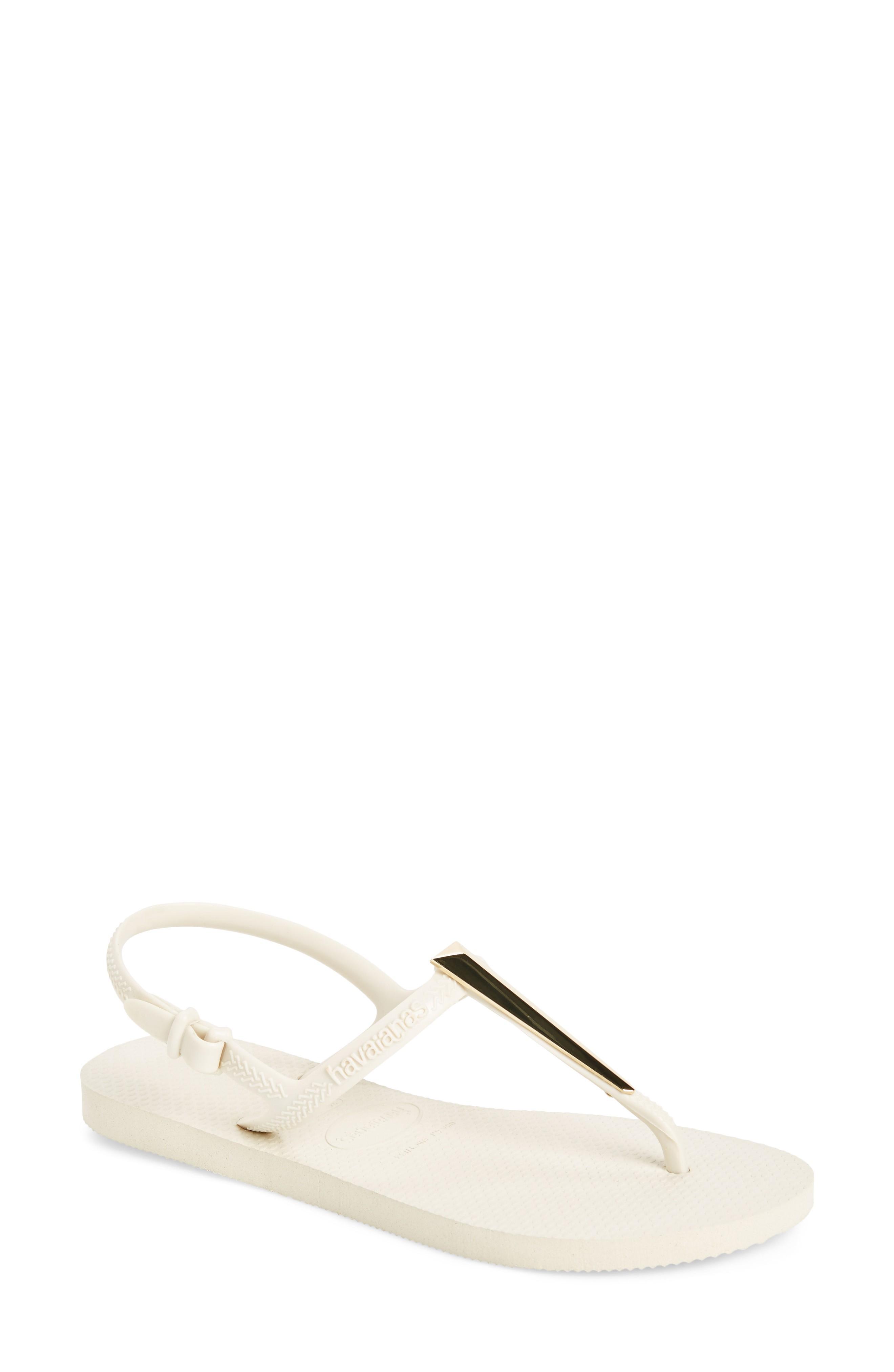 837062d8bb4d0b Havaianas Freedom Slim Maxi Sandal In Beige