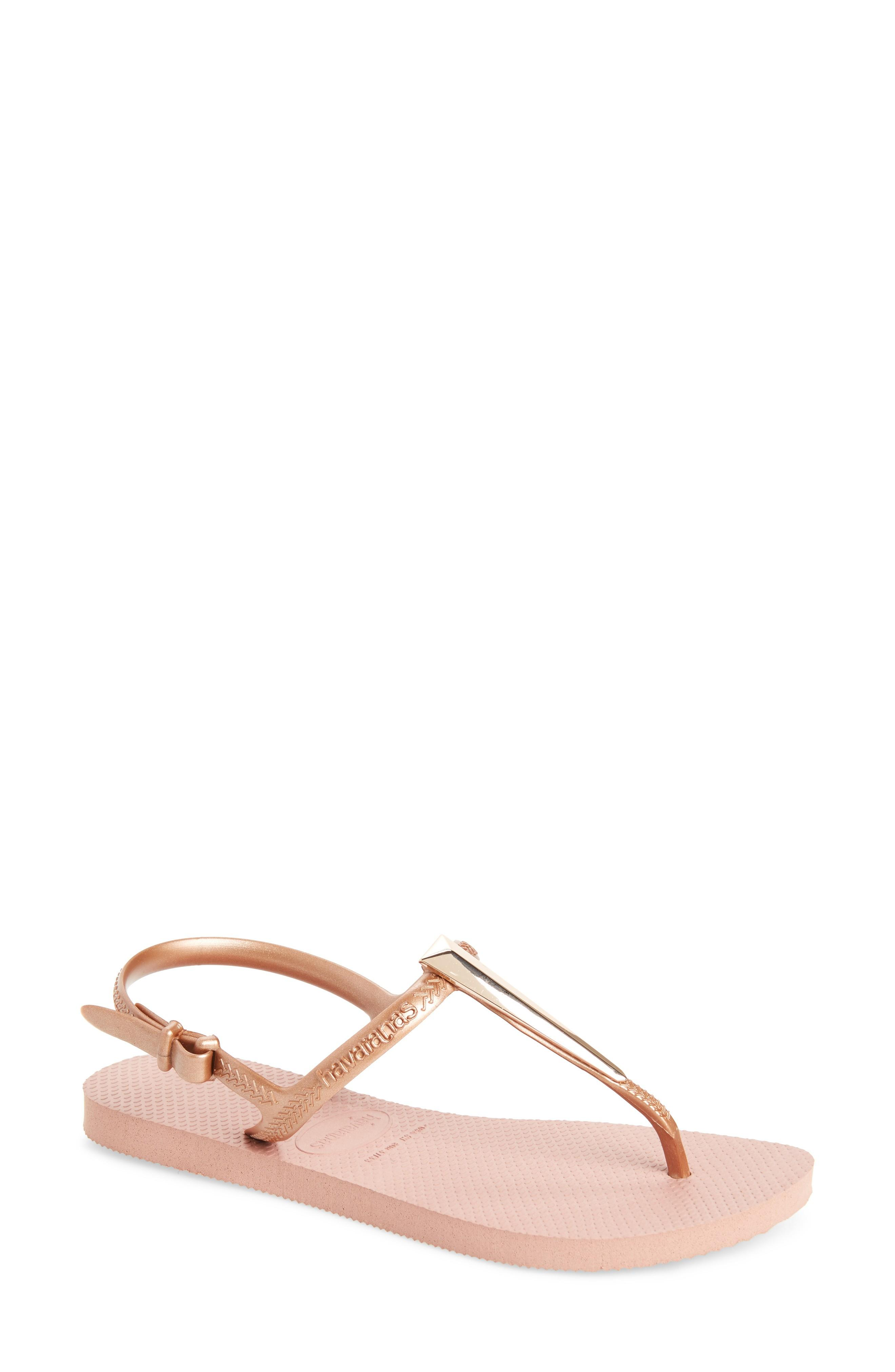 39b3ce59b580ae ... strap of a resort-ready sandal with a comfortable rubber sole and an  easy-fit slingback strap. Style Name  Havaianas Freedom Sl Maxi Sandal ( Women).