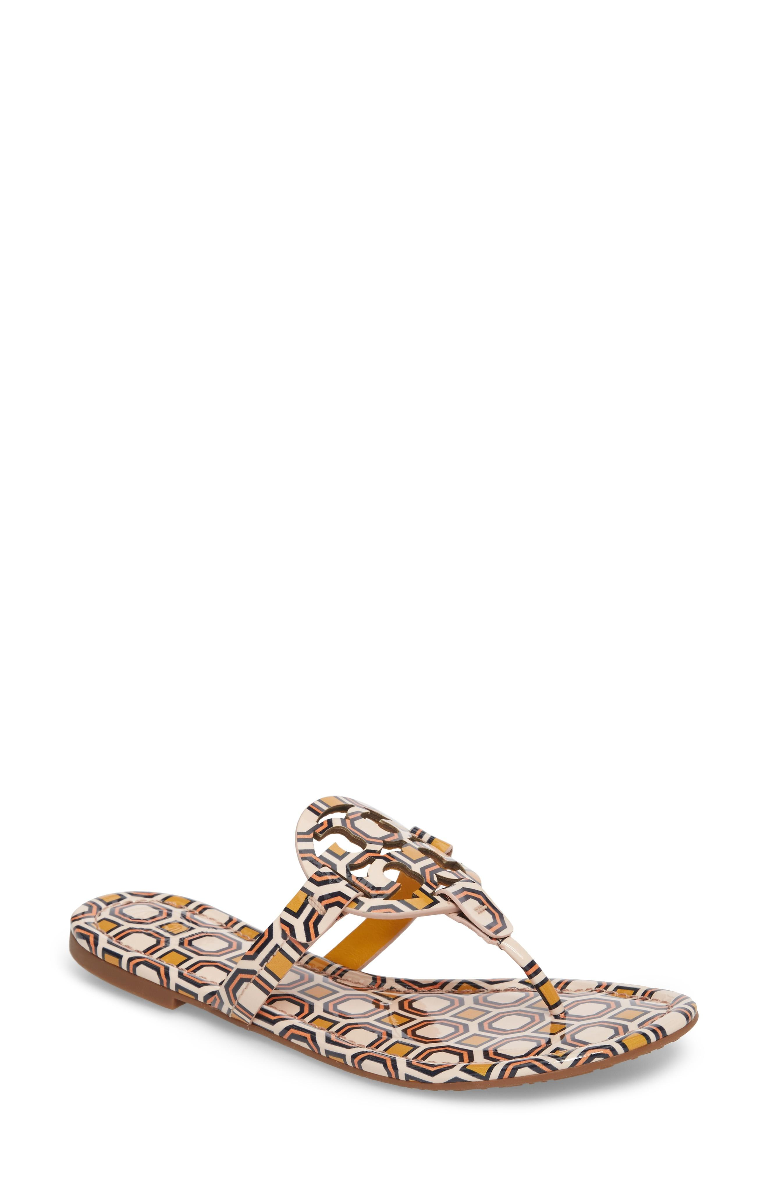 b1752e651674 A foam-cushioned footbed makes it a comfortable choice for long summertime  days. Style Name  Tory Burch  Miller  Flip Flop (Women).