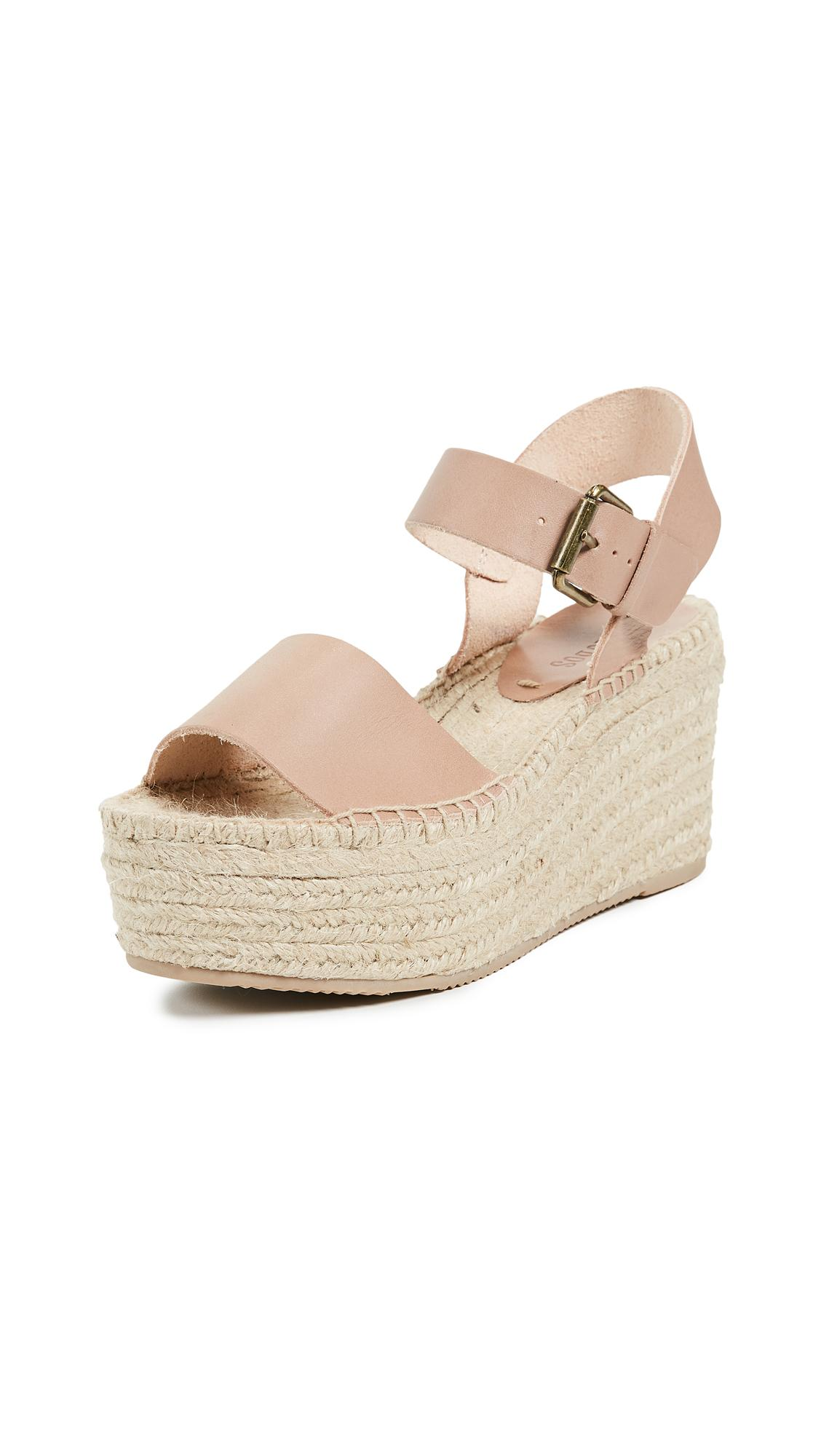 ffbd735c7752 Fabric  Braided jute Leather  Cowhide Espadrilles Wedge heel Platform  profile Buckle at ankle Open toe Rubber sole Imported