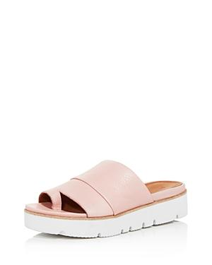 2d356f45df0 ... toe-ring sandal lifted by a low platform that s articulated for  flexibility and all-day comfort. Style Name  Gentle Souls Lavern Slide  Sandal (Women).