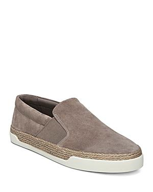 Vince Women's Johan Suede Slip-On Sneakers In Woodsmoke