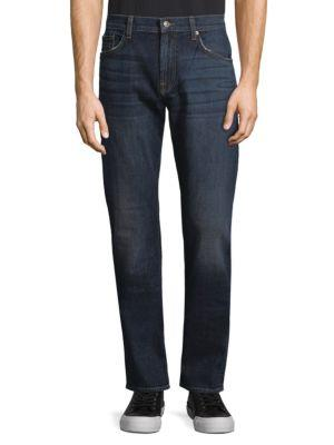 7 For All Mankind The Straight Faded Jeans In Southern