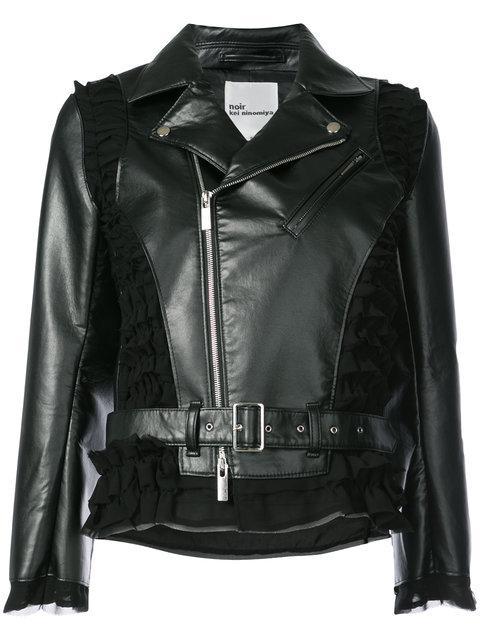Comme Des GarÇOns Classic Biker Jacket In Black