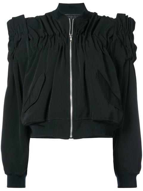 Comme Des GarÇOns Structured Jacket In Black