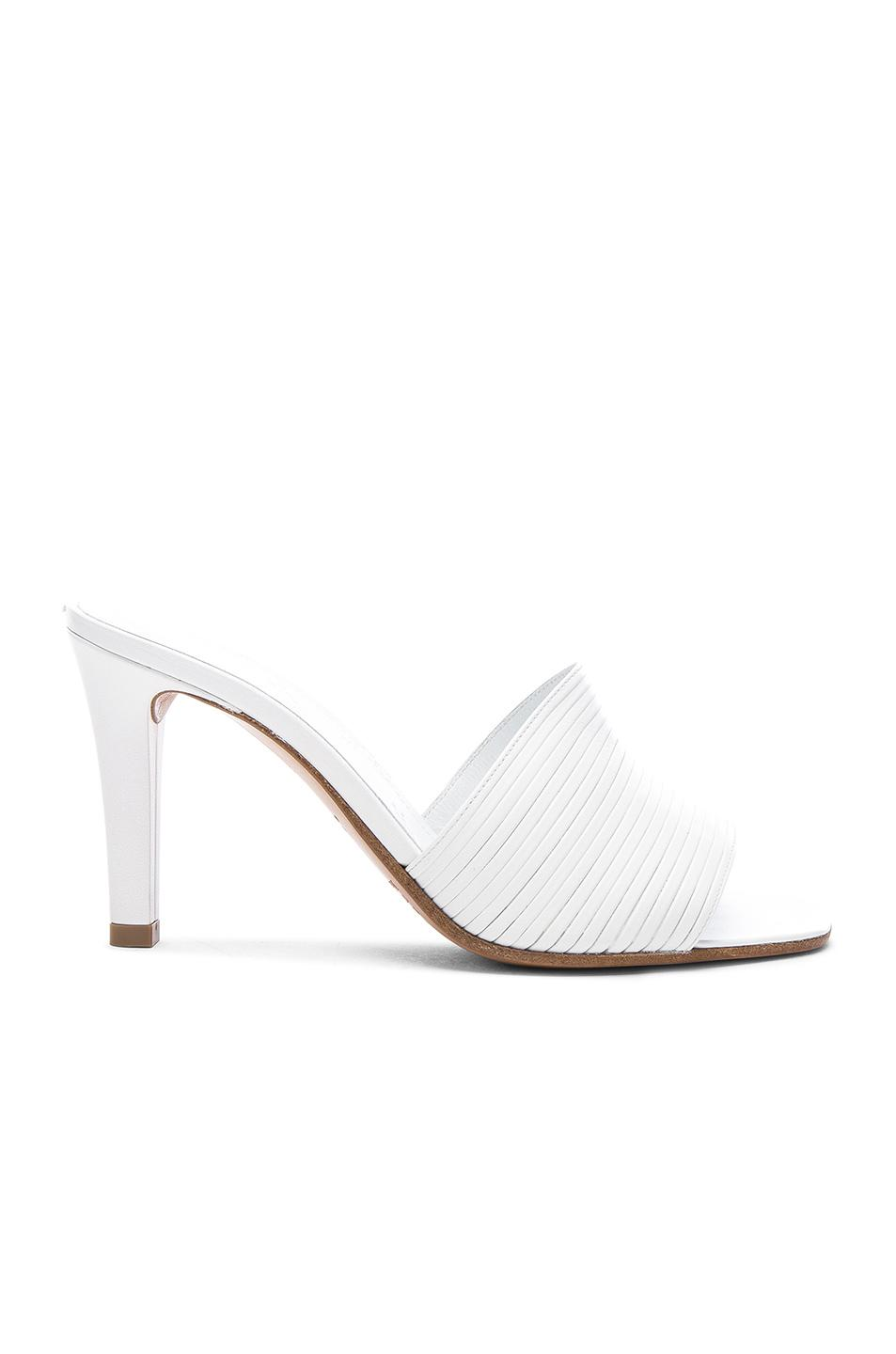 Maison Margiela High Heel Mules In White