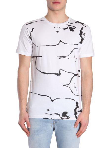 Diesel Black Gold Ty-Testa T-Shirt In White