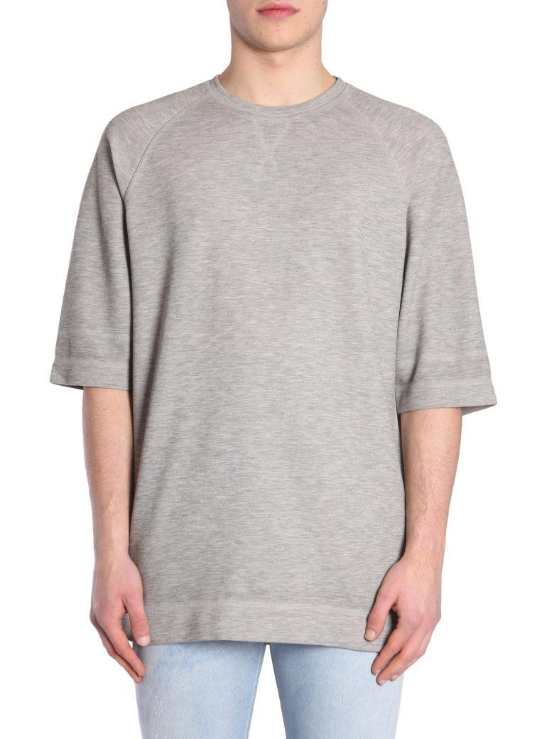 Diesel Black Gold Tucky T-Shirt In Grigio