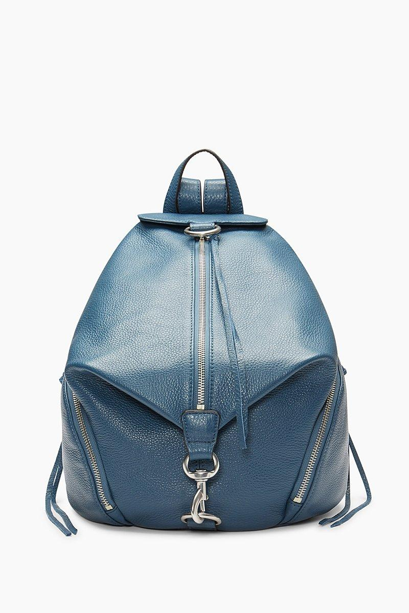 Rebecca Minkoff Julian Backpack - Blue In Octavio