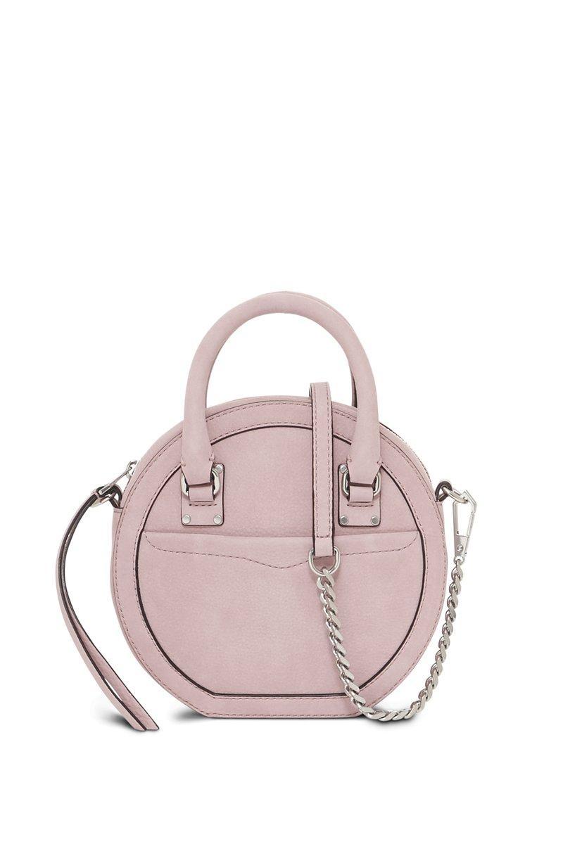 fb848d2ebd Rebecca Minkoff Bree Circle Crossbody Bag - Pink In Blossom