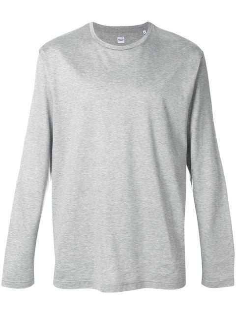 E. Tautz Long-Sleeved Top In Grey