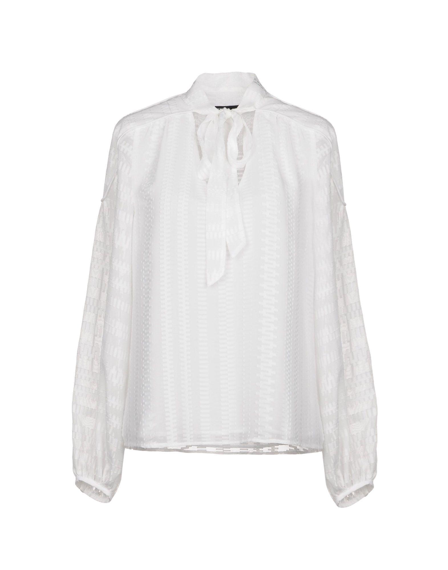 Karen Millen Shirts In White