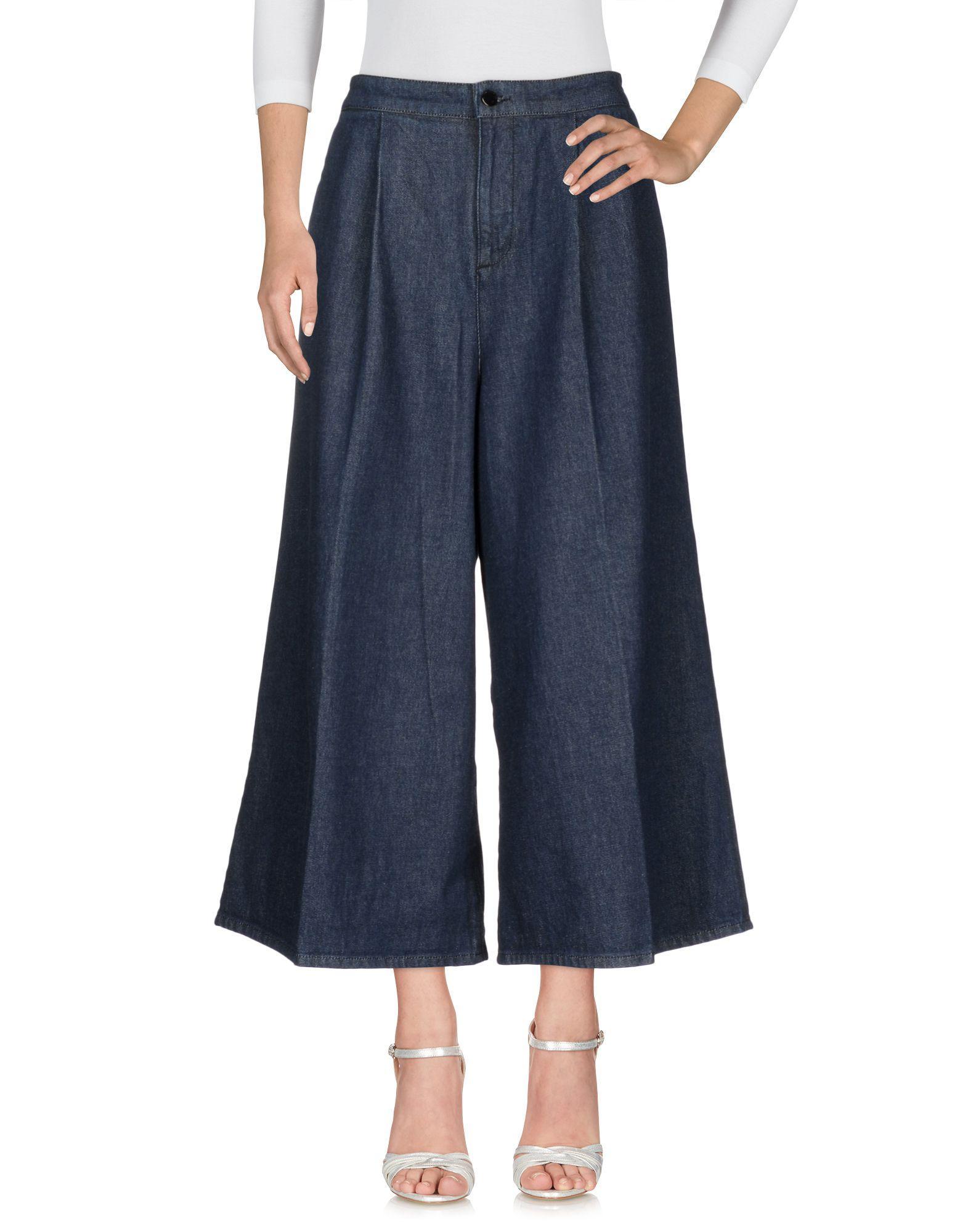 Victoria Victoria Beckham Denim Pants In Blue