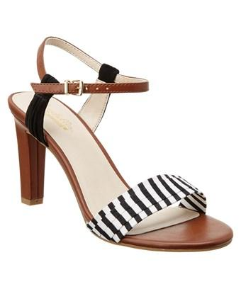 Seychelles Prime Leather Heeled Sandal In Brown