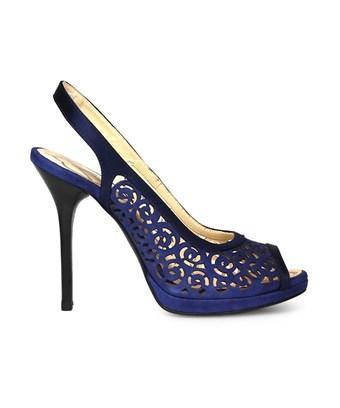 Fabi Women's  Blue Suede Sandals