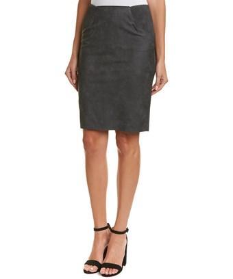 Vero Moda Mini Skirt In Grey