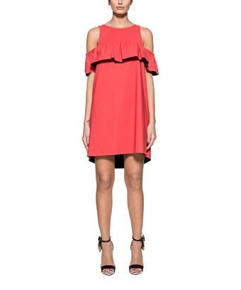 Pinko Women's  Red Polyamide Dress