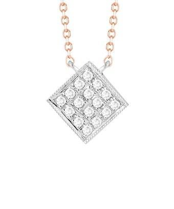 Dana Rebecca Designs Lisa Michelle 14k Rose Gold Diamond Necklace In Nocolor