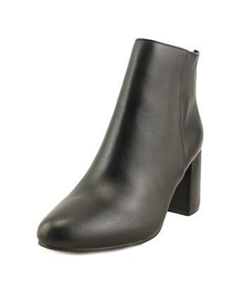 Steve Madden Parisa Women  Round Toe Leather Black Ankle Boot