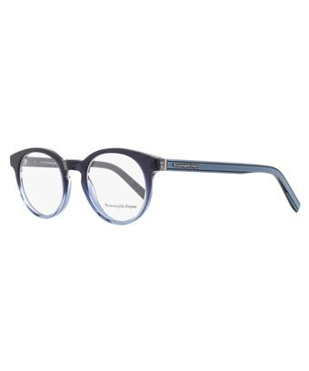 Ermenegildo Zegna Oval Eyeglasses Ez5024 092 Size: 47mm Shaded Blue 5024