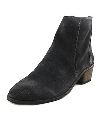 Dolce Vita Kat Women  Round Toe Suede Gray Ankle Boot In Grey